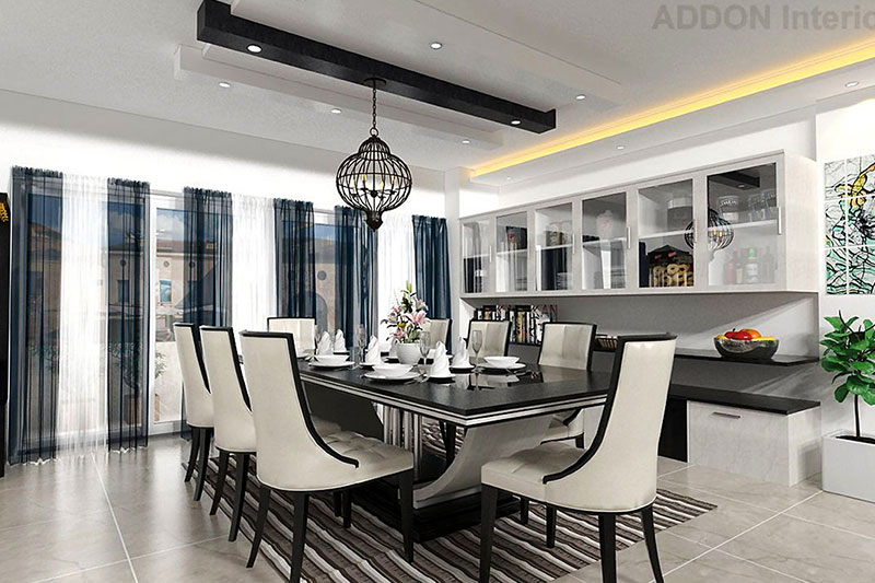 LIVING AND DINING AREA DESIGN